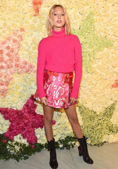 **Princess Maria-Olympia of Greece** <br><br> As if her name doesn't sound glamorous enough, this trendy royal truly embodies fashion, particularly after she attended the Schiaparelli Haute Couture Spring Summer 2019 show as part of Paris Fashion Week. We can't get enough of this pink ensemble!