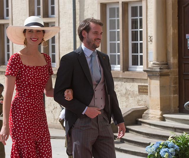 **Princess Claire of Luxembourg** <br><br> If you're heading to Europe for summer this year - herein lies all the inspiration you need. Princess Claire turned heads in a stunning red polka-dot dress and wide-brim hat as she and Prince Felix attended an event for their National Day in 2015.