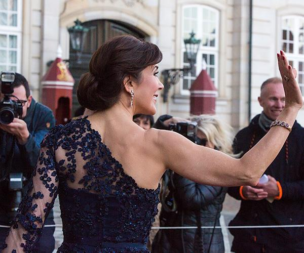 **Crown Princess Mary of Denmark** <br><br> And check out those arms! Power to you, Mary.