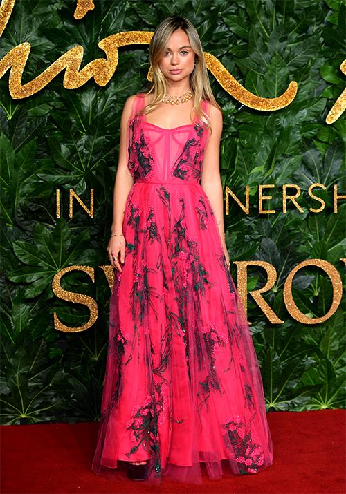 **Lady Amelia Windsor** <br><br> Attending the Fashion Awards in 2018, this Windsor proved she was a style force to be reckoned with. And we want all of her hair care secrets.