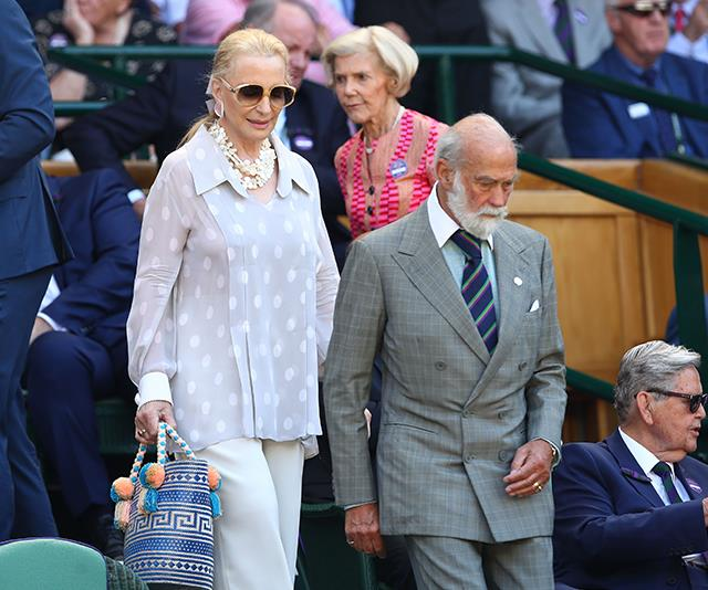 **Princess Michael of Kent and Prince Michael of Kent** <br><br> Move aside Kim and Kanye, this royal pairing are the ultimate fashion power couple. Attending the Wimbledon men's singles final in 2018, the British royals oozed class.