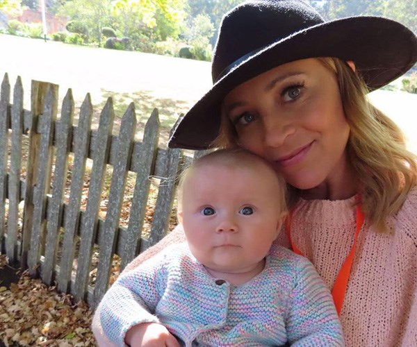 Chris shared this sweet snap of Carrie and Baby Addie at Port Arthur. *(Image: Instagram @walkschris21)*