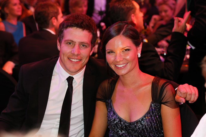 Stephen and Bridgette at the TV WEEK Logie Awards.