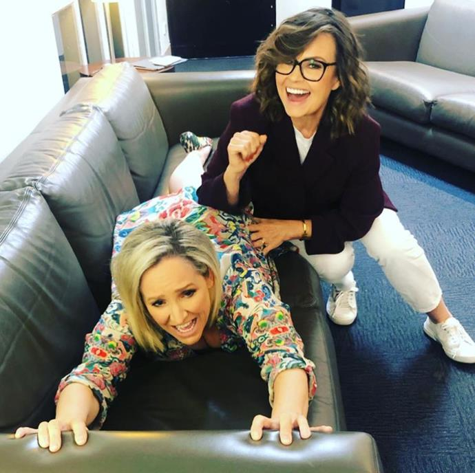 Lisa Wilkinson provided the ultimate relief to Fifi! *(Image: Instagram / @Fifi_box)*