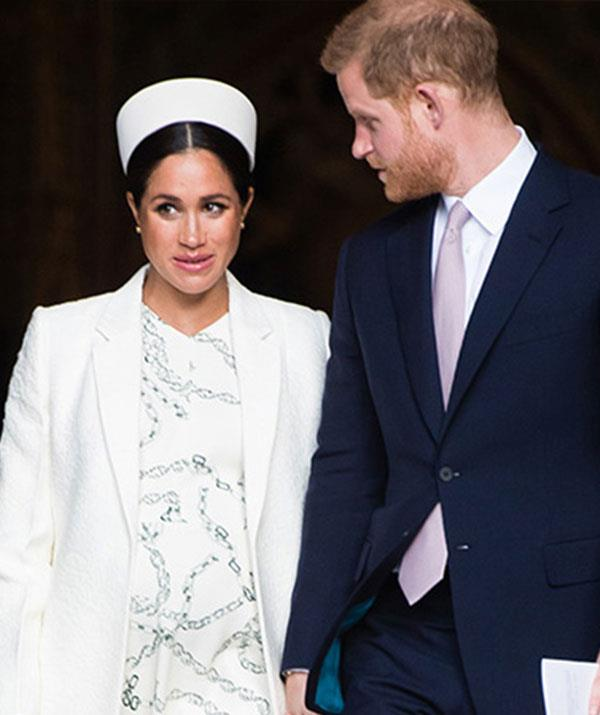 Not long now! Edwina is in the UK to keep Australians updated as Meghan Markle and Prince Harry prepare to welcome their first child. *(Image: Getty Images)*