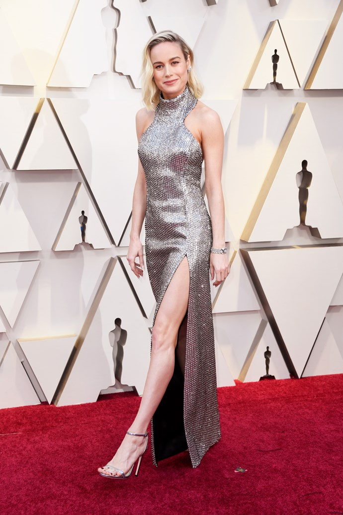 Brie looked dazzling at the 2019 Academy Awards *(Image: Getty)*