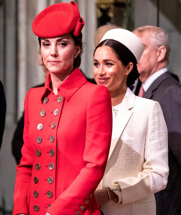 Here's hoping Archie's name doesn't bring up any bad blood between the royal households. *(Image: Getty)*