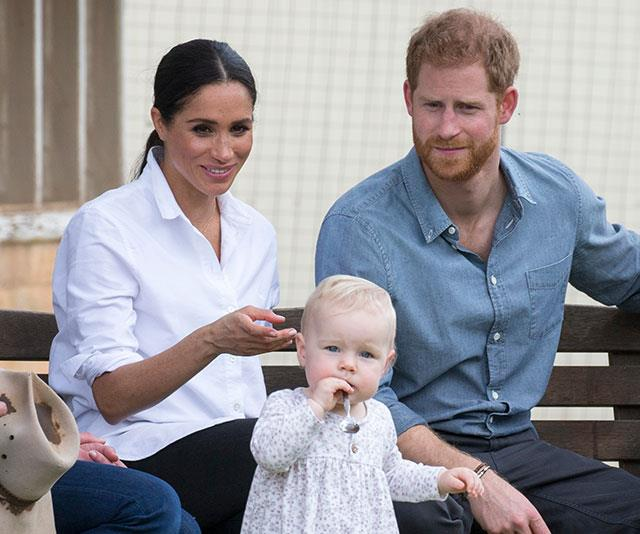 We can't wait to see the couple, pictured in Dubbo during the royal tour of Australia last year, in mum and dad mode. *(Image: Shutterstock)*
