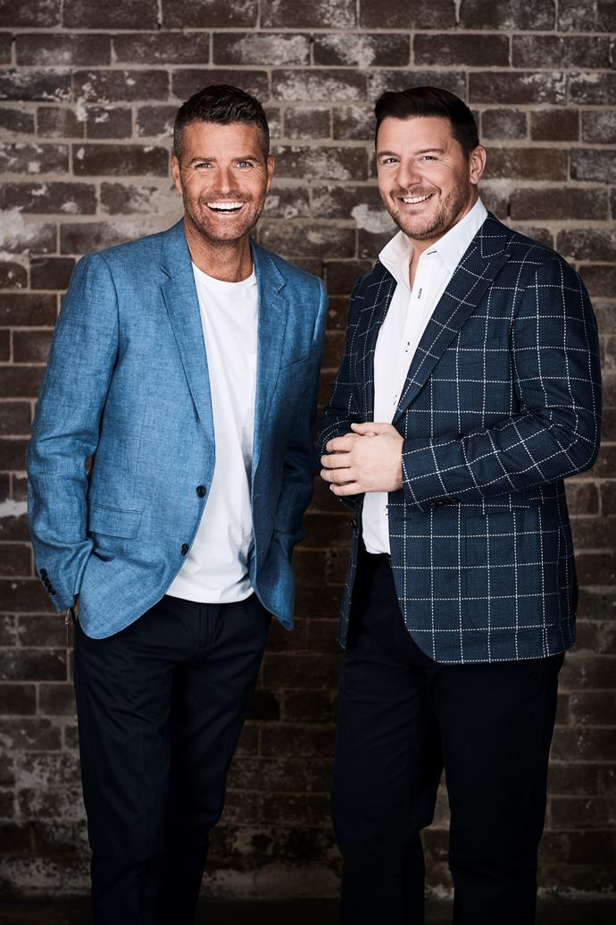 Manu with his *MKR* co-judge Pete Evans (Image: Channel Seven).
