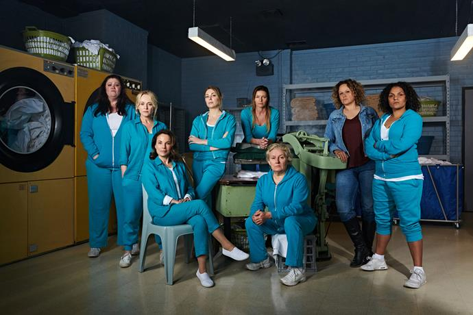 Sigrid will reunite with her *Wentworth* co-star Katrina (far left).