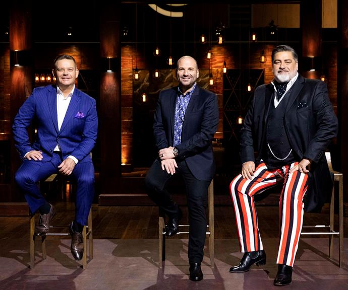 *MasterChef* judges Gary Mehigan, George Calombaris and Matt Preston. *(Image: Channel 10)*