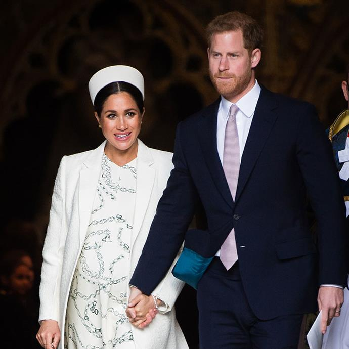 Meghan and Harry welcomed their firstborn child in the early morning on May 6th, 2019. *(Image: Getty Images)*
