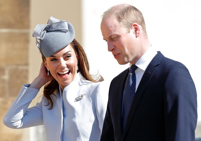 Kate and Wills shared a sweet message for their brand new nephew on Instagram.