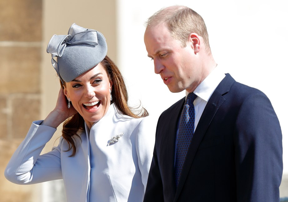 The Duke and Duchess of Cambridge shared their excitement to meet the new member of their family. *(Image: Getty)*