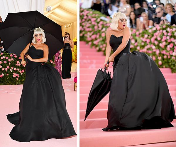 Camp or casual? We honestly thought Lady Gaga would go for something a bit wilder, especially as she's a host this year. *(Image: Getty Images)*