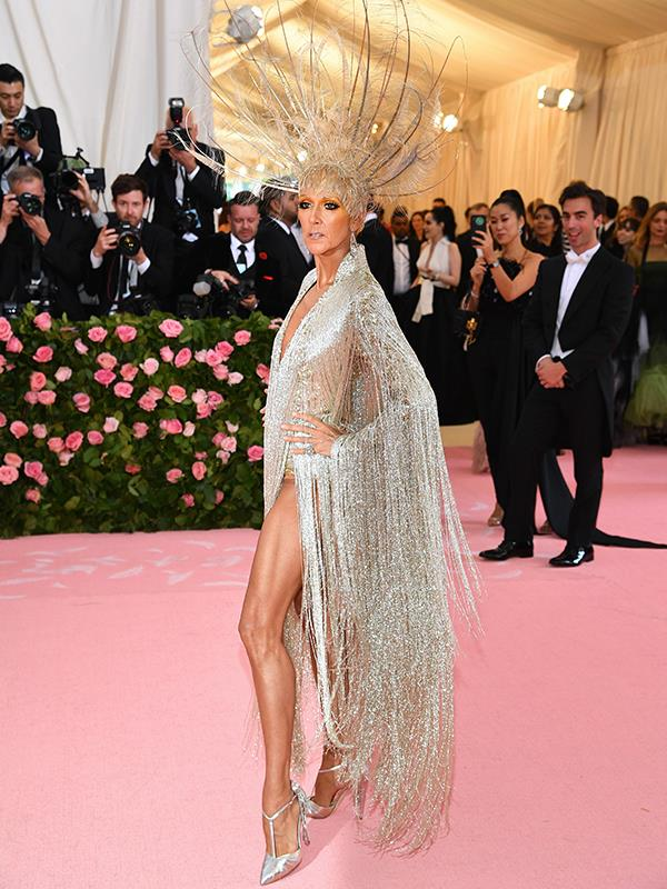 Our hearts will go on and on for this look Celine Dion! *(Image: Getty Images)*