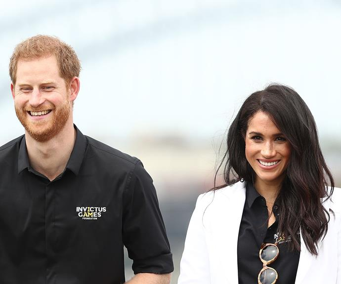 Prince Harry and Meghan Markle have an impressive Rolodex of celebrity mates. *(Image: Getty)*