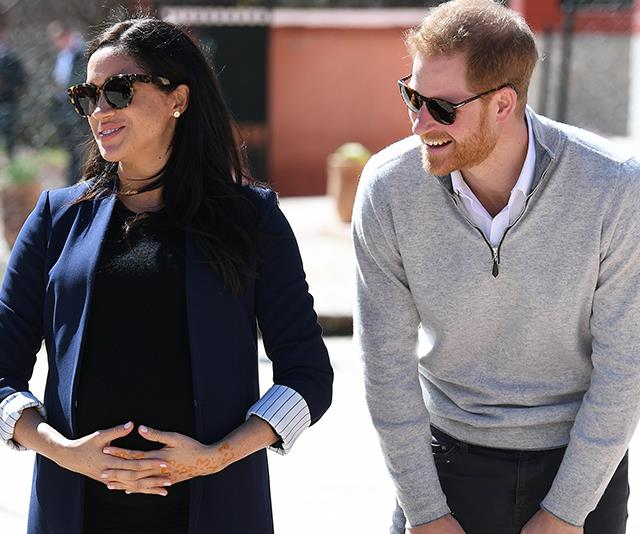 Meghan wanted to give birth at home and had researched hypnotherapy. *(Image: Getty)*