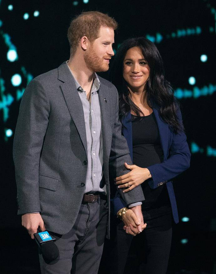 All signs point to Meghan giving birth in hospital. *(Image: Getty)*