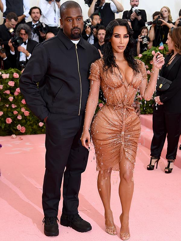 It's not an A-list event without Kim and Kanye. *(Source: Getty Images)*