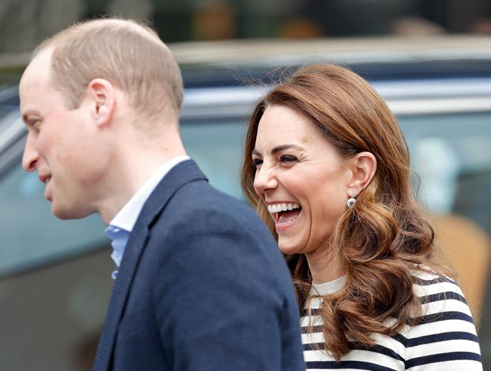 William and Kate are also highly anticipating meeting the new baby. *(Image: Getty)*