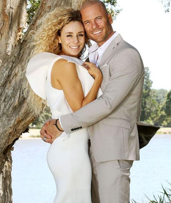 Heidi and Mike (pictured) tied the knot on *MAFS* before their romance imploded *(Image: Getty Images)*