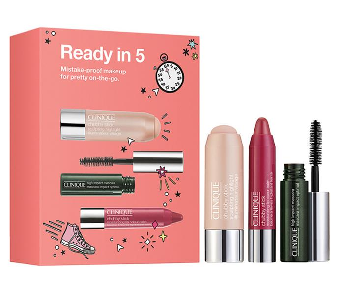 This range of make-up products are bound for Mum's handbag. *Image: Myer*