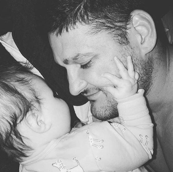 Brendan is a very proud new dad! *(Image: Instagram / @brendanfevola25)*