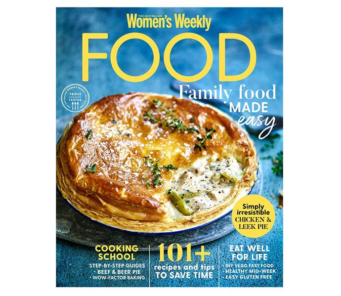 Who wouldn't love a yearly subscription to a magazine filled with delicious recipes? *Image: Magshop*