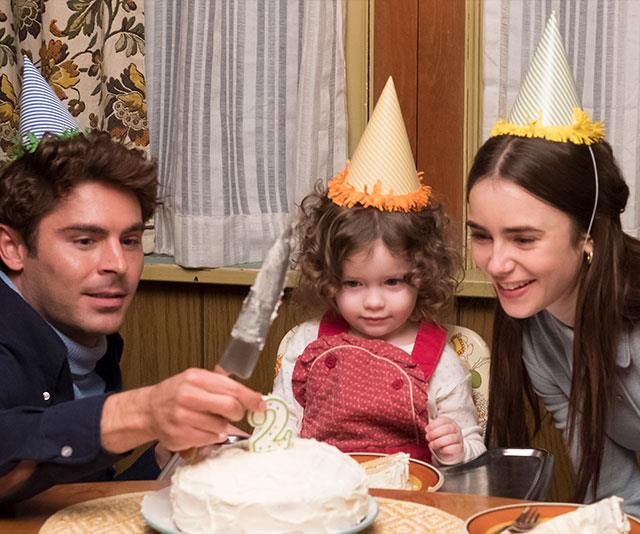 Another theory is that dating Elizabeth (played by Lily Collins, pictured) and the image of a family man made Ted (Zac Efron, pictured) seem innocent. *(Image: Netflix)*