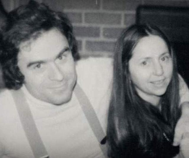 The real-life Ted Bundy and Elizabeth Kloepfer dated after meeting in a bar in 1969. *(Image: Netflix)*