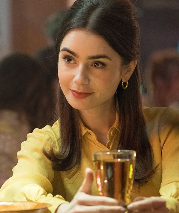 Lily Collins portrays Elizabeth in Netflix's *Extremely Wicked, Shockingly Evil and Vile*. *(Image: Netflix)*
