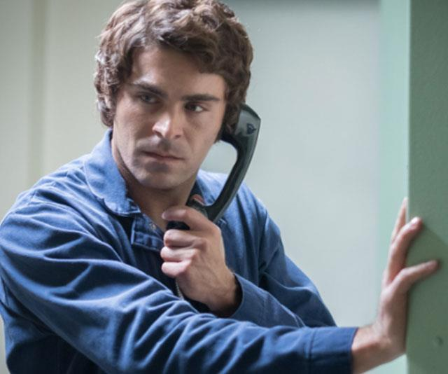 Zac Efron portrays serial killer Ted Bundy in *Extremely Wicked, Shockingly Evil and Vile*. *(Image: Netflix)*