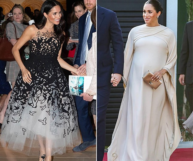 She's ticked off maternity style - now it's time for her to nail new-mum style. *(Images: Getty)*