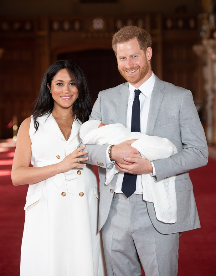 She chose a dress that showed off her gorgeous post-birth body. *(Image: Getty)*