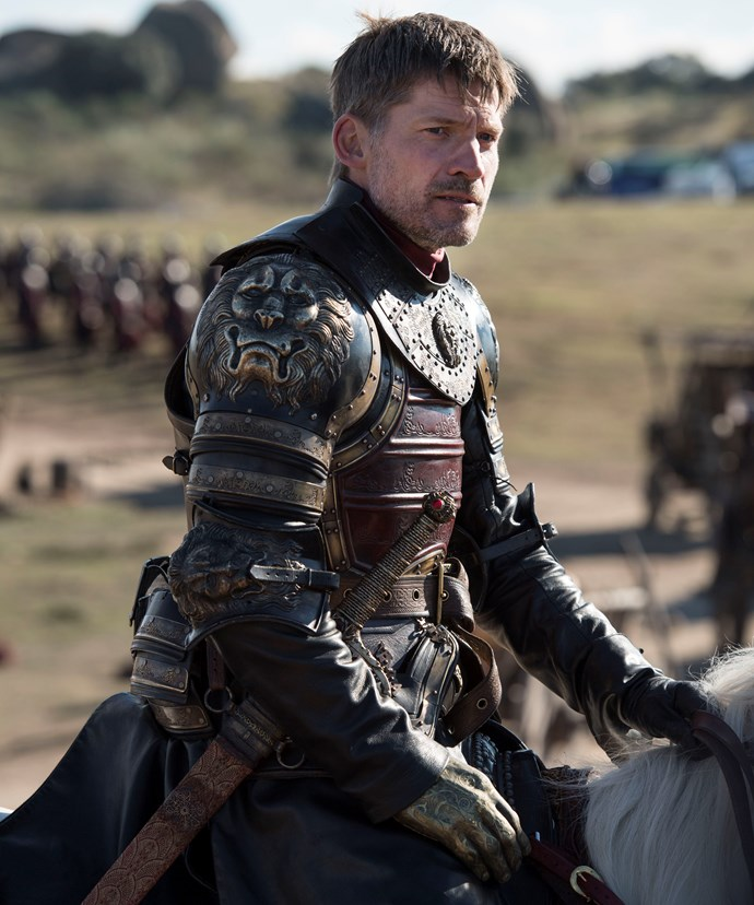 **Jaime Lannister, A Man Can Change**  The cocky Kingslayer could have rested on his laurels and bowed toward his sister/lover's will, but Jaime's (Nikolaj Coster-Waldau) sense of morality grew throughout the series. Where he used to rely on his sword, he started relying on empathy. After all, he saves his brother from execution, saves Brienne from a mauling, and saves himself from regret. All without a hand. Will he face up to Cersei, though, in the end?