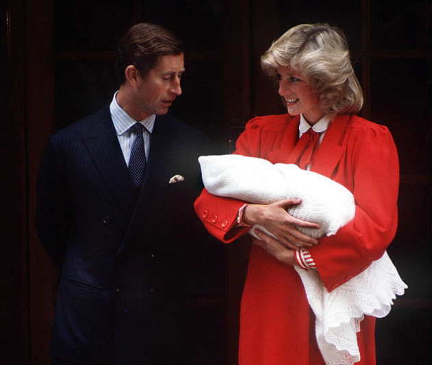 Cute! Prince Harry was only a little fella. *(Image: Getty.)*