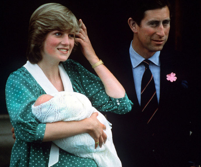 Prince William's arrival was the beginning of the royal family's Lindo Wing births. *(Image: Getty.)*