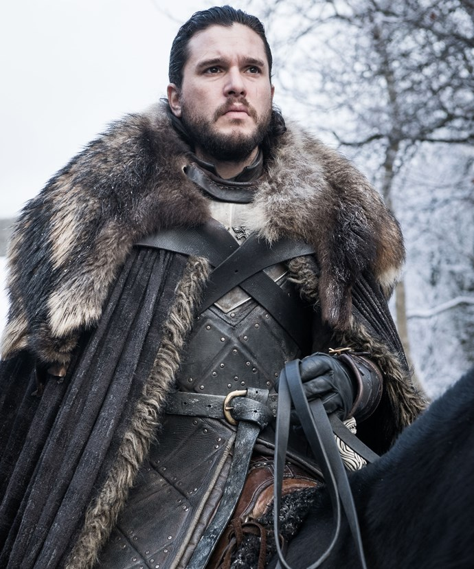 **Jon Snow, A Regal Warrior**  Ned Stark's bastard son Jon (Kit Harington) was sent away to The Wall early in the series. Despite that, his honour and kind heart led him to unite with the wildlings, a decision which ultimately cost him his life in a vicious mutiny. But much to our relief, he was resurrected by the Red Woman, won the Battle of the Bastards, and then captured Daenerys' heart before learning he was Aegon Targaryen, the true heir to the Iron Throne.