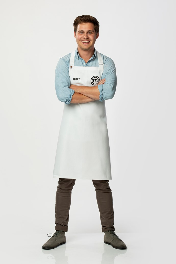 **Blake Werner, 23, Bar Manager, VIC** <br><br> Blake's parents own a Spanish restaurant in Melbourne, where he manages the bar and works front of house. Ready to extend his culinary education, Blake's hoping to learn more at the hands of the *MasterChef* mentors.