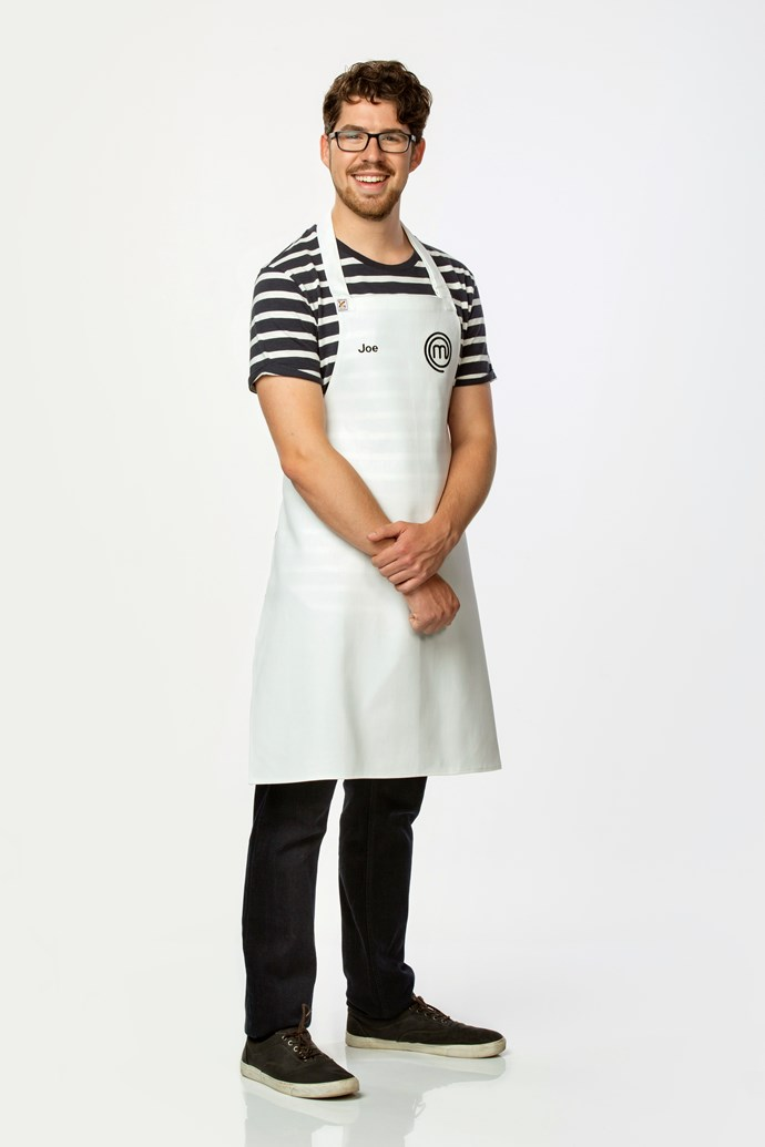 **Joe Ahern, 22, Digital Production Assistant, WA** <br><br> Watching Sashi take out the 2018 MasterChef Grand Finale, Joe was inspired to apply. He plated up a 'faultless' pumpkin agnolotti dish that received an anonymous 'yes' from the judges.