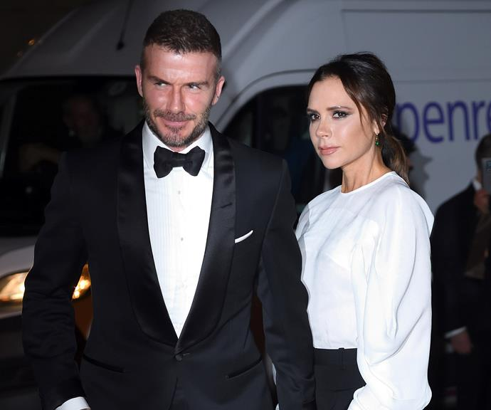 With close ties to the royal family, will Posh and Becks get the call up? *(Image: Getty)*