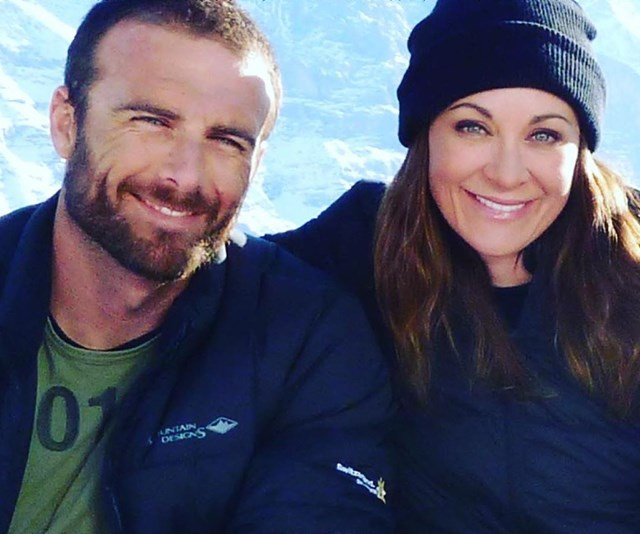 Michelle and her partner Steve Willis are vocal advocates of the benefits of exercise for physical and mental health. *(Image: Instagram @mishbridges)*