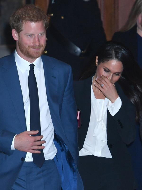 Meghan has sought solace from the royal spotlight at Amal Clooney's Berkshire estate.*(Image: Getty Images)*