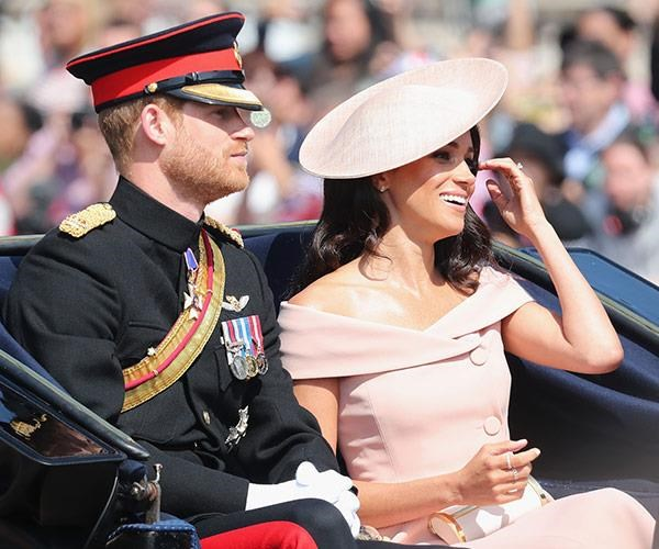 Meghan will make her first official appearance since welcoming her son in June for the annual Trooping the Colour parade. *(Image: Getty)*