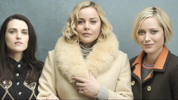 Katie McGrath, Abbie Cornish and Georgina Haig headline Seven Studio's new drama Secret Bridesmaids' Business (Image: Channel Seven).
