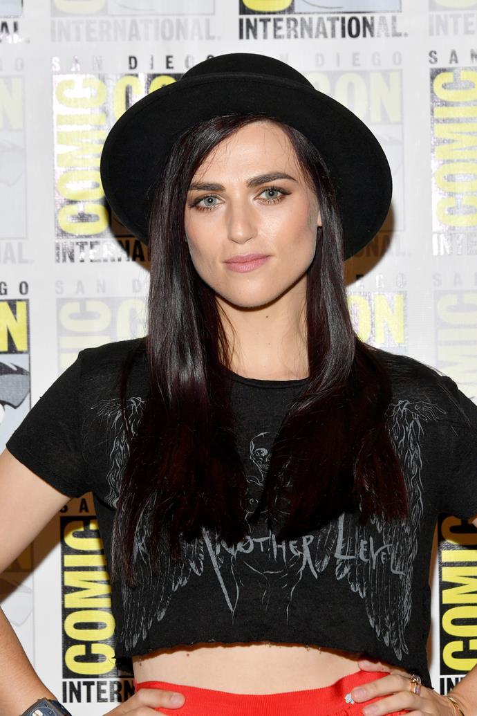 Katie stars as Saskia (Image: Getty).