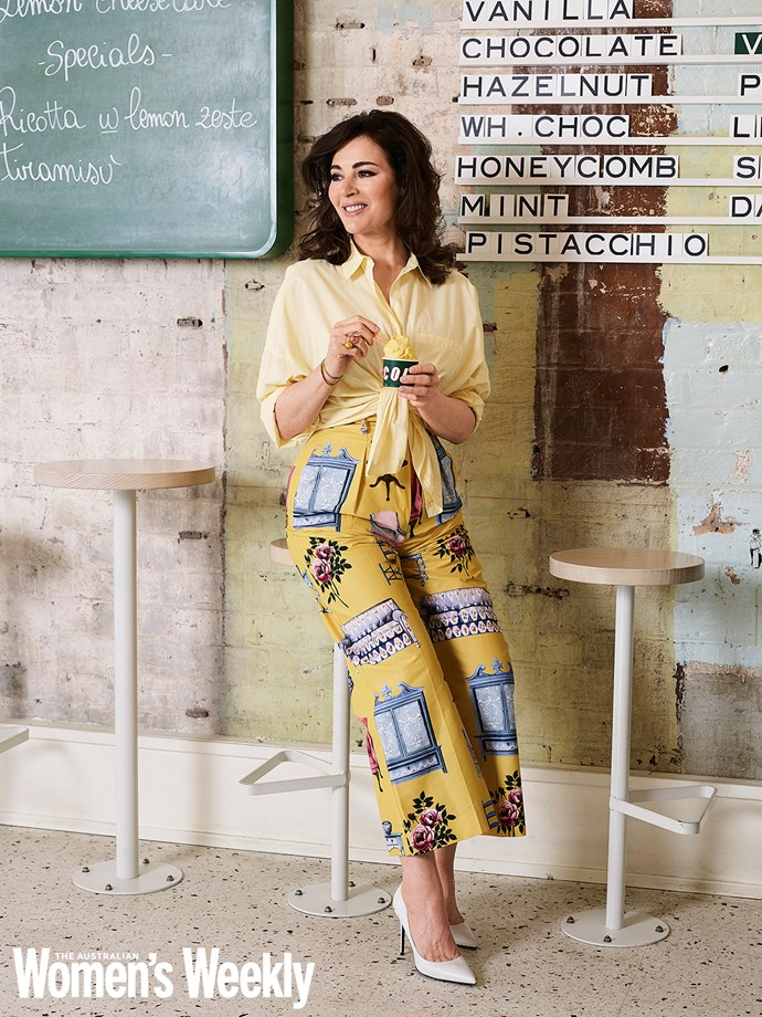 Nigella shows off her gorgeous curves in our exclusive AWW shoot. *(Image: Corrie Bond. Styling by Mattie Cronan)*