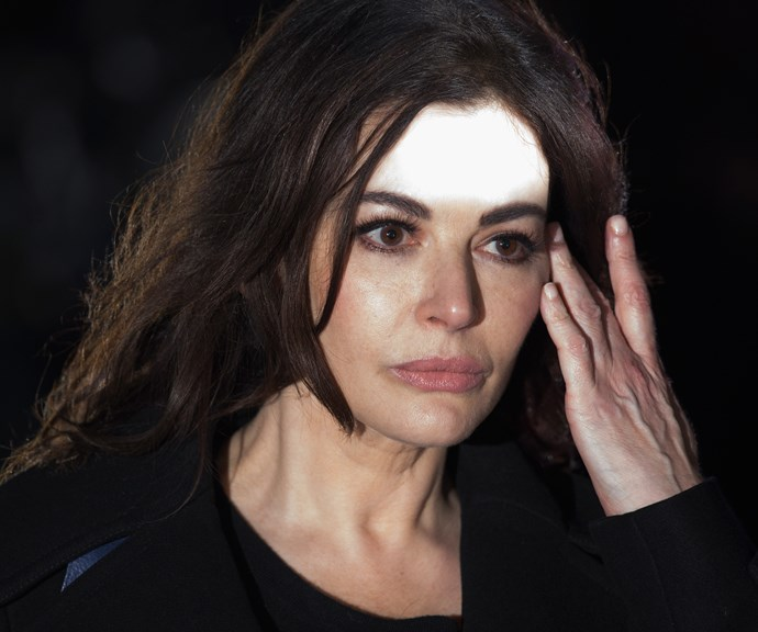 Nigella pictured heading to court to give evidence in her ex-husband Charles Caatchi's fraud trial. *(Image: Getty)*