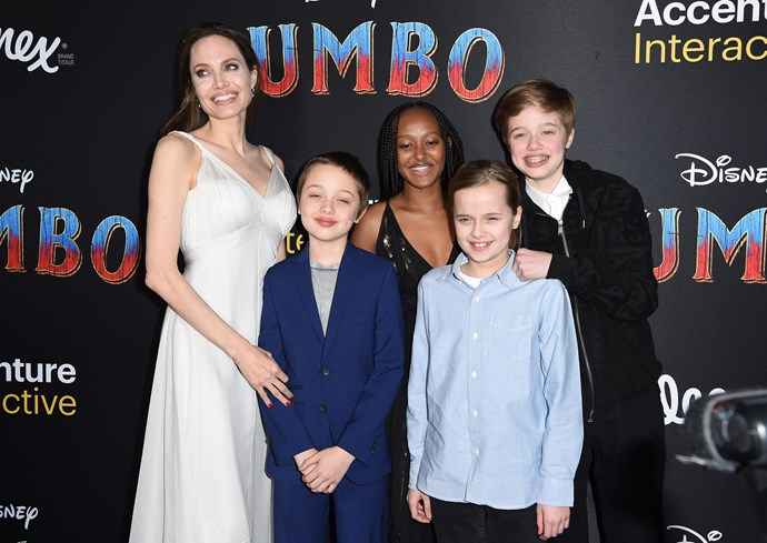 Angelina's kids are worried for their frail mum. *(Image: Getty)*